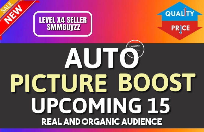 Get Real Automatic Social PICTURE BOOST To Each Of Your Upcoming Uploads