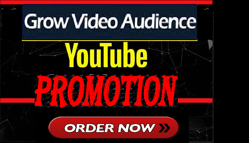 BOOST YOUTUBE VIDEO SOCIAL MEDIA MARKETING PROMOTION EXCLUSIVE