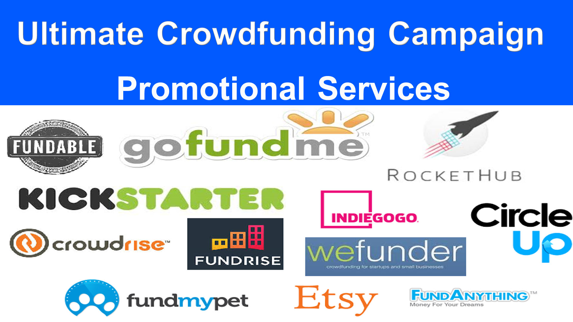 Manually Promote And Advertise Your Crowdfunding Campaign To Millions Backers