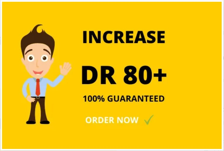 increase ahrefs domain rating 80 plus