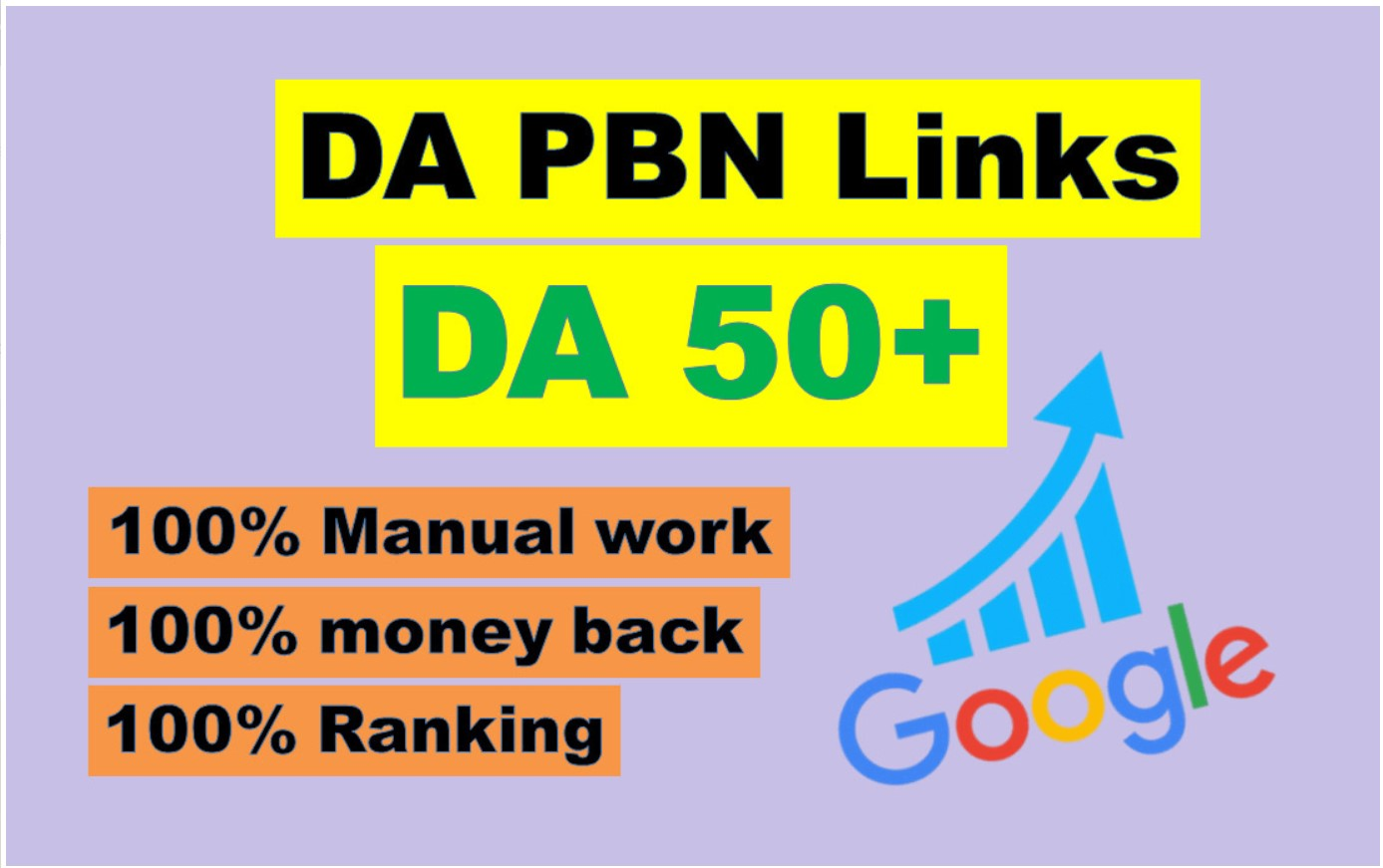 Create 100 High Quality HomePage DA 50+ PBN Backlinks
