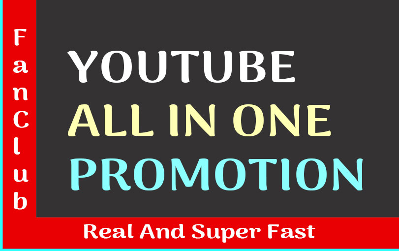 YOUTUBE VIDEO PROMOTION REAL AND ORGANIC SUPER FAST SERVICE