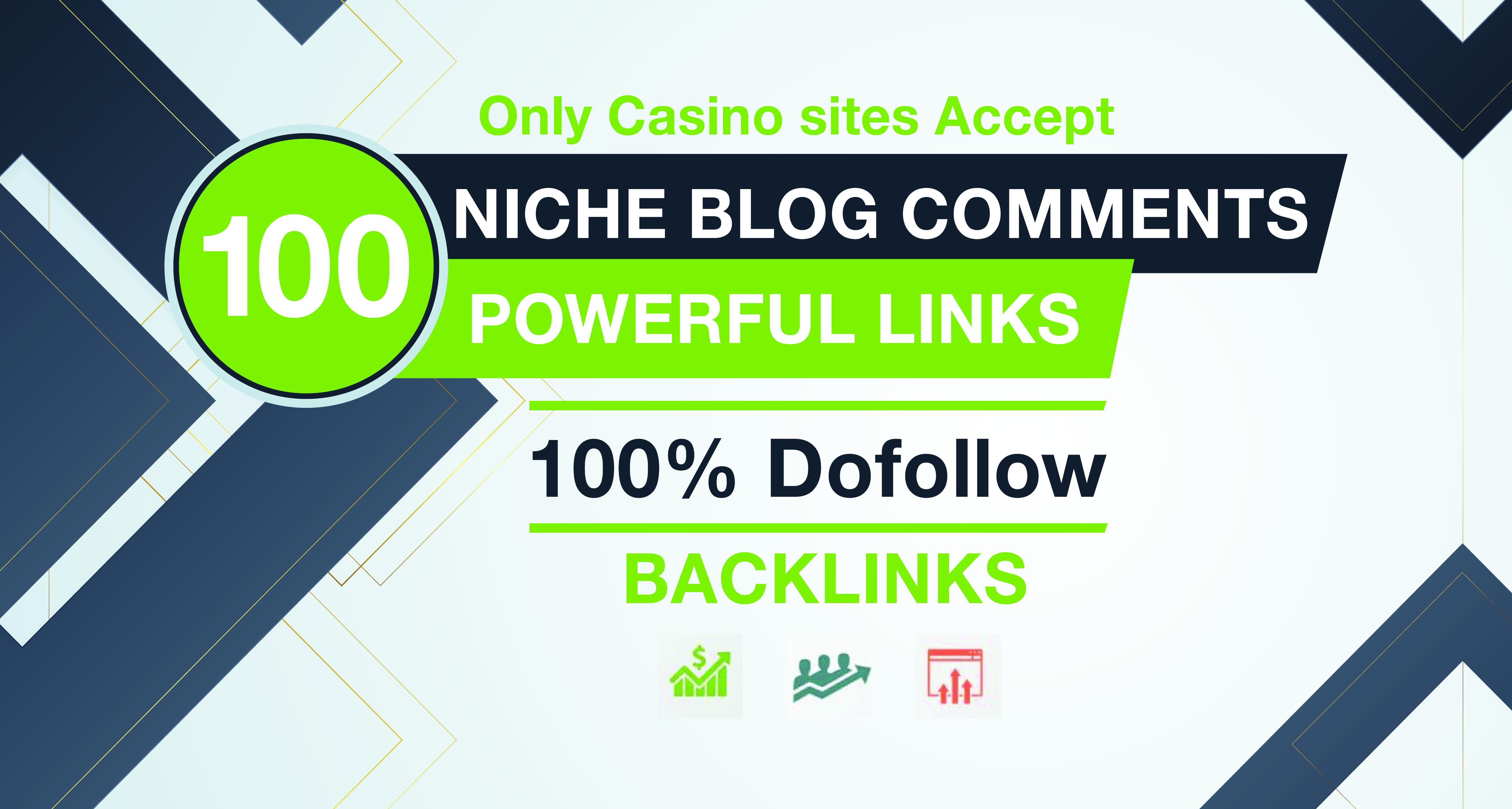 i will make 100 niche relevant dofollow blog comments on high DA Sites