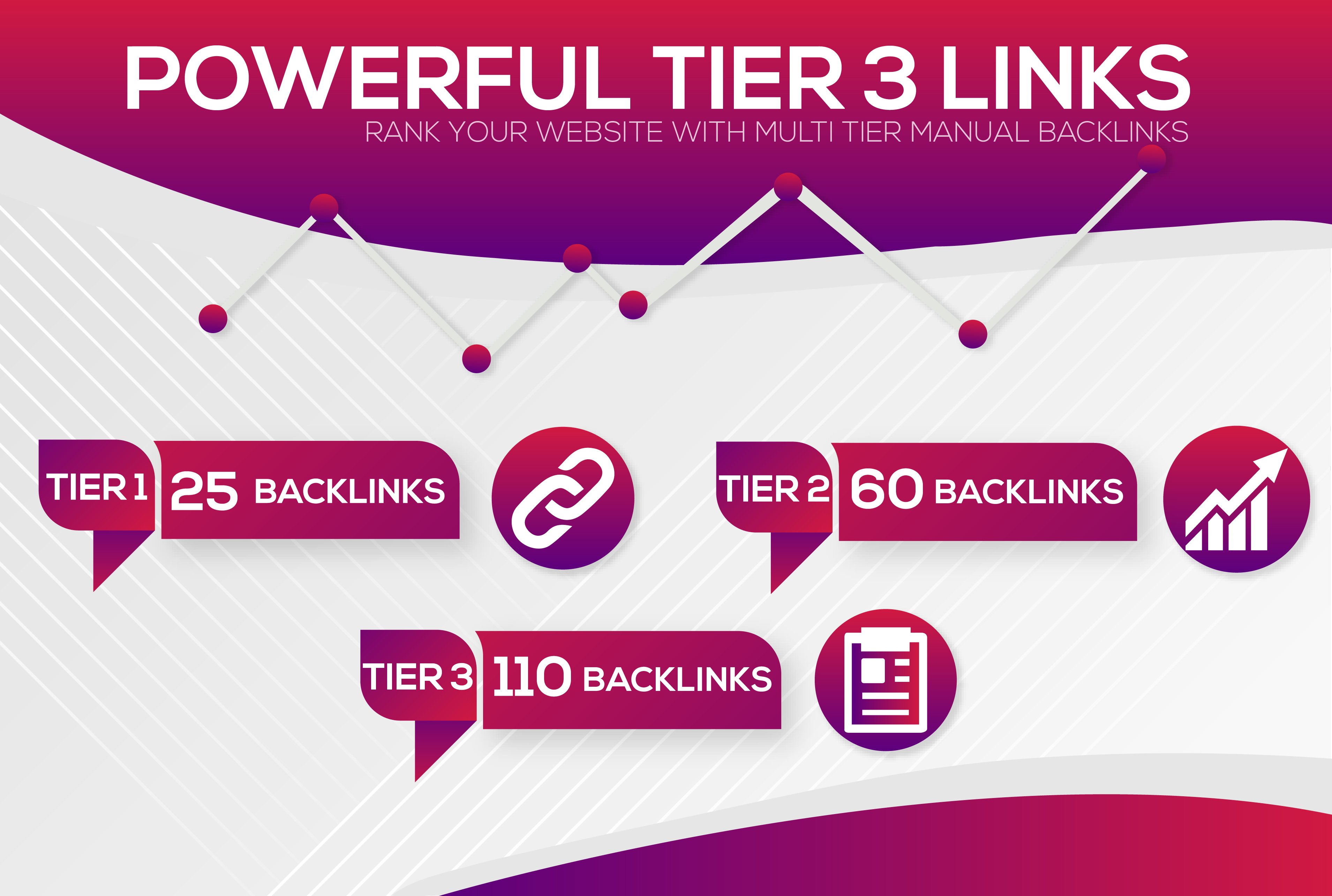 Do 25 Contextual Extremely High Authority Multi Tiered links