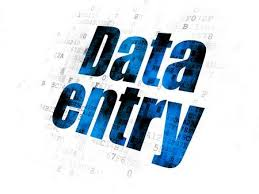 data entry, and copy paste from pdf file excel