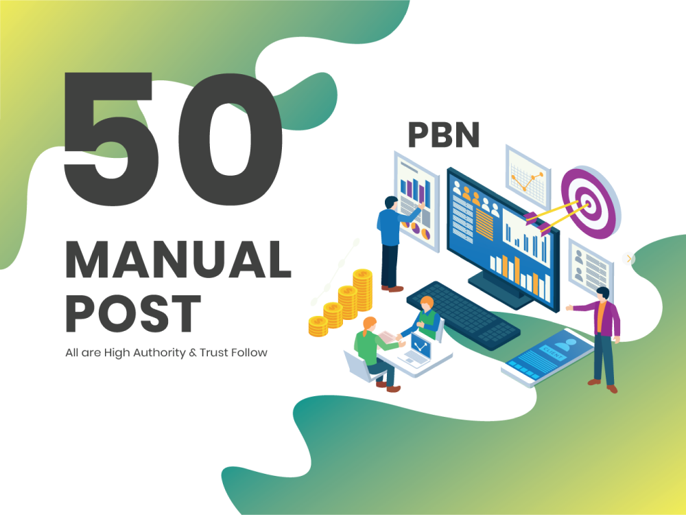 50 high metrics PBN posts on contextual backlinks