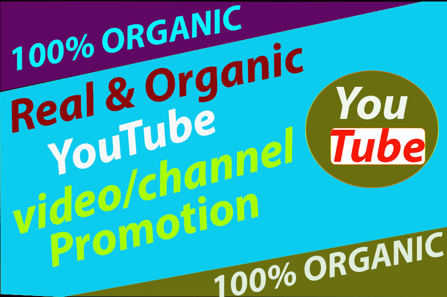 Manually Do Youtube promotion via social media marketing very fast complete