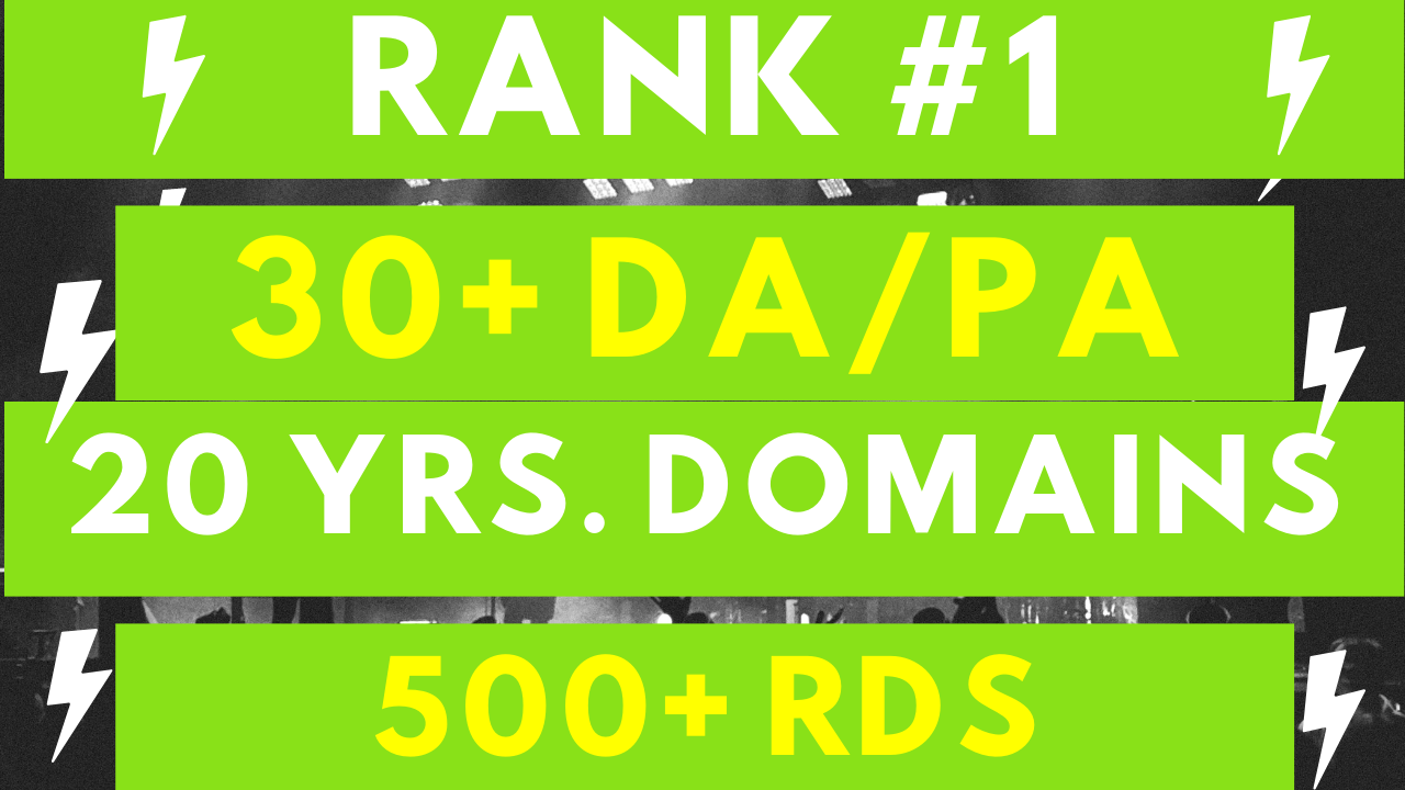 30 Authority PBN Backlinks for Quick Top Rankings!