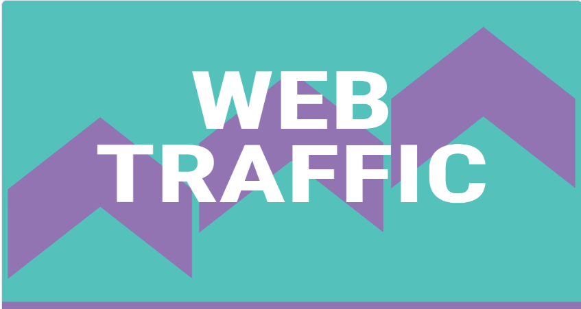 1000 clicks per day US web traffic for one month