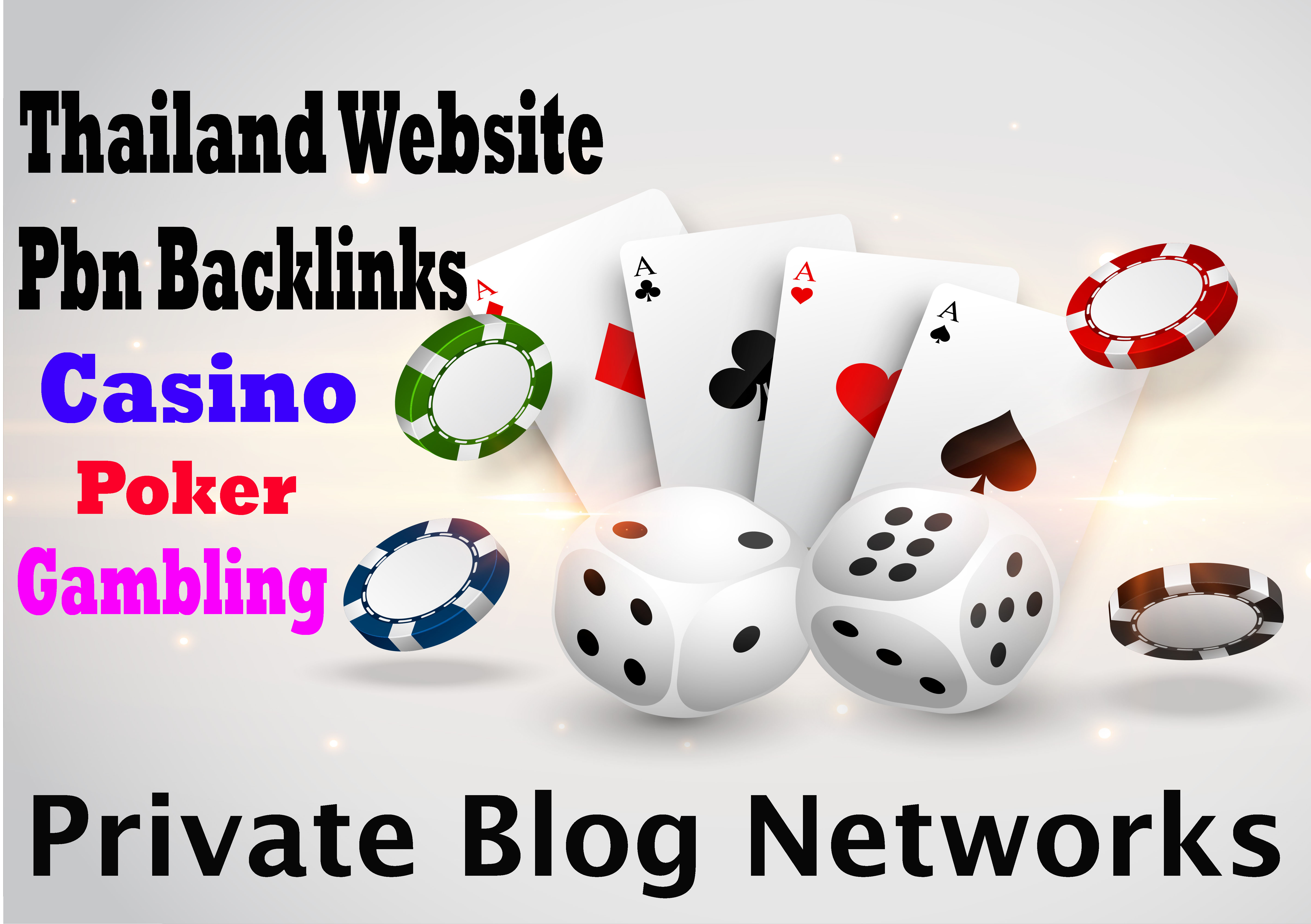 Casino/ Poker/ Gambling Sites 1000 Pbn Backlinks All Unique Domains