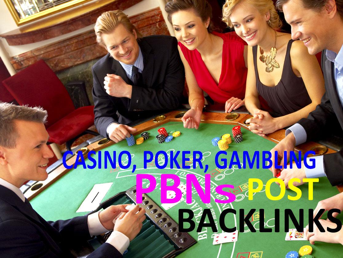 Judi Bola,  Casino,  Poker & Gambling 350 Homepage PBN backlinks for your website