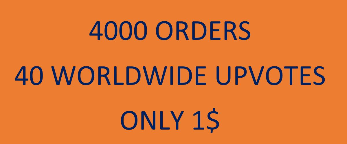 Instant 40 Worldwide Quora upvotes 4000 sales