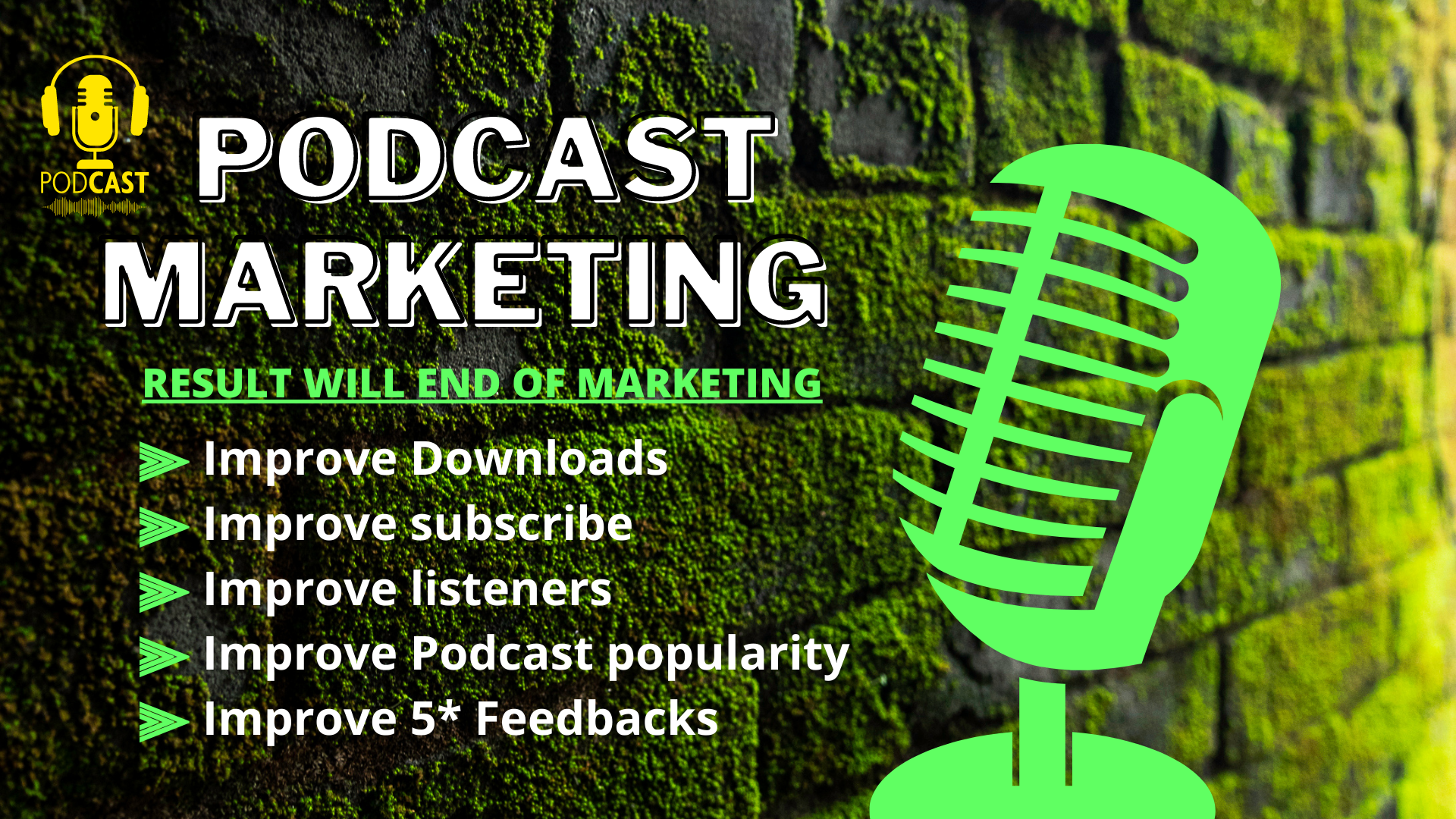 Organics promotion your podcast increase to downloads real audience