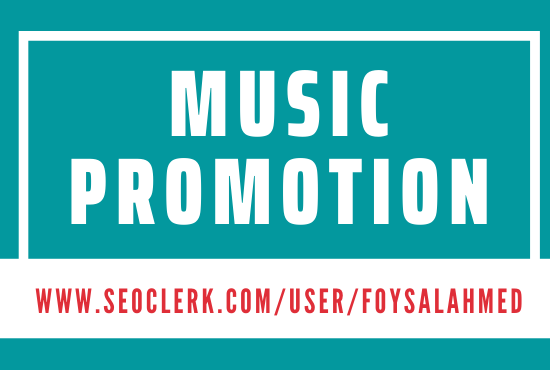 Music Promotion Service Fast Delivery