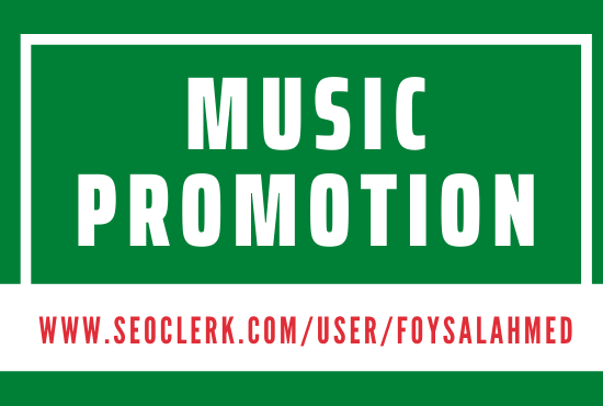 Effective Music Promotion Basic Package Fast Delivery