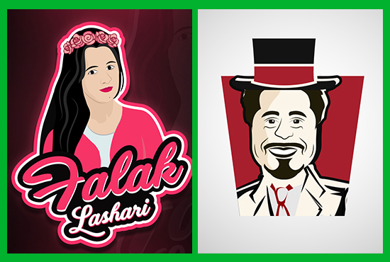 draw your cartoon portrait or cartoon caricature from your photo