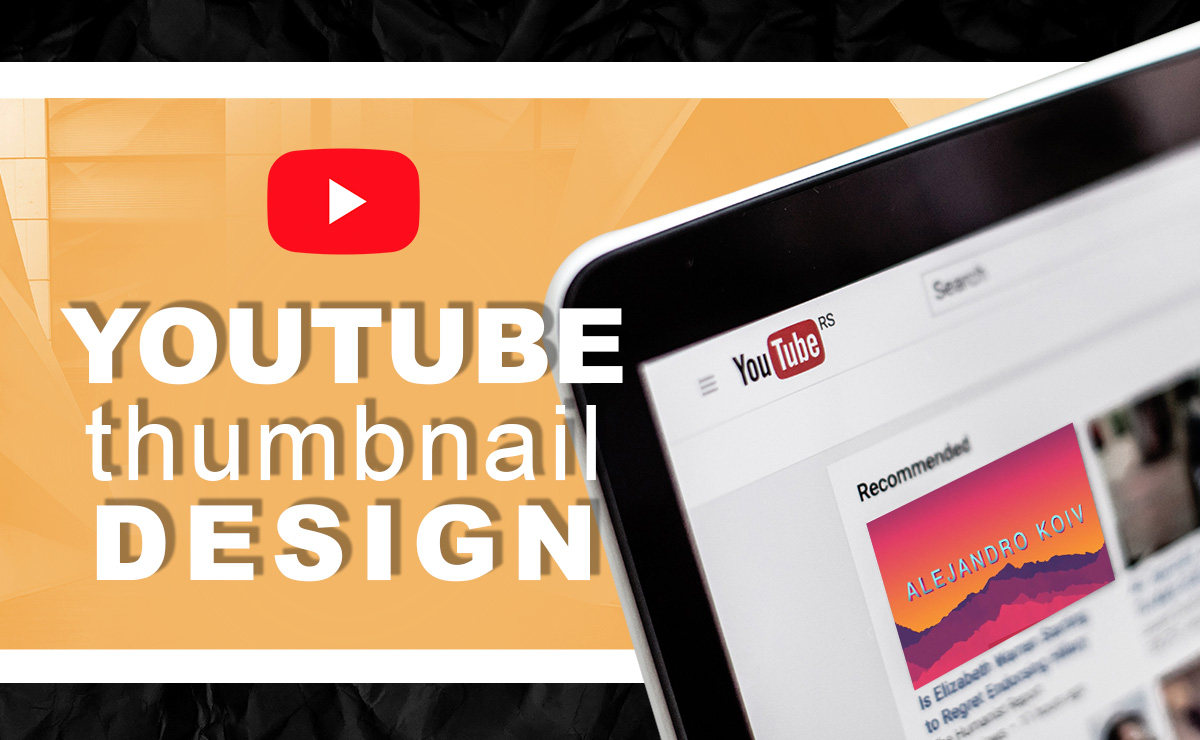 I will design your youtube thumbnail