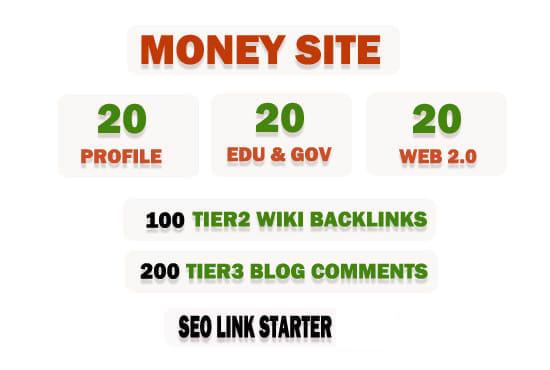 I will do google ranking SEO link building backlinks service