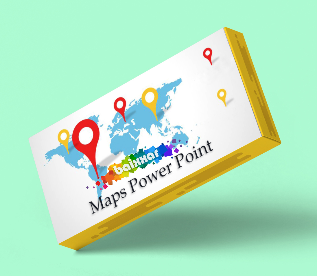 300+ Templates Maps Power Point