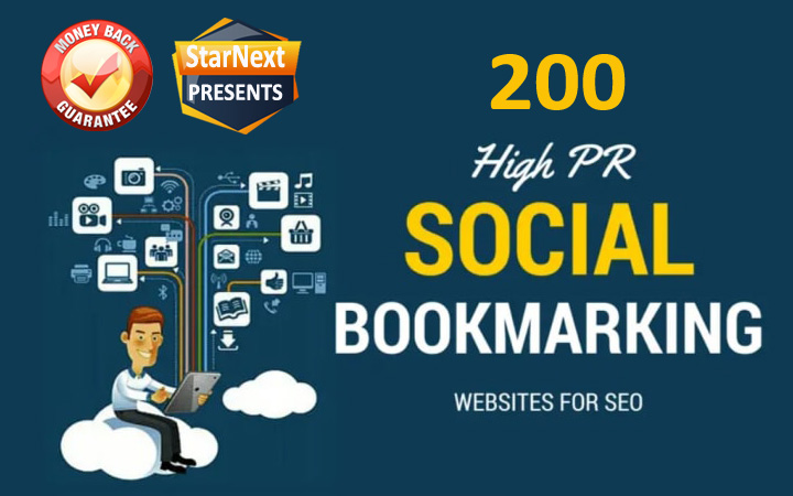 Special Offer 200 High Authority Social Bookmarking Backlinks on High DA PA Websites Increase Google