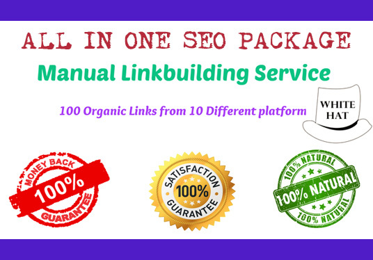 All In-One Manually SEO Link-Building Package