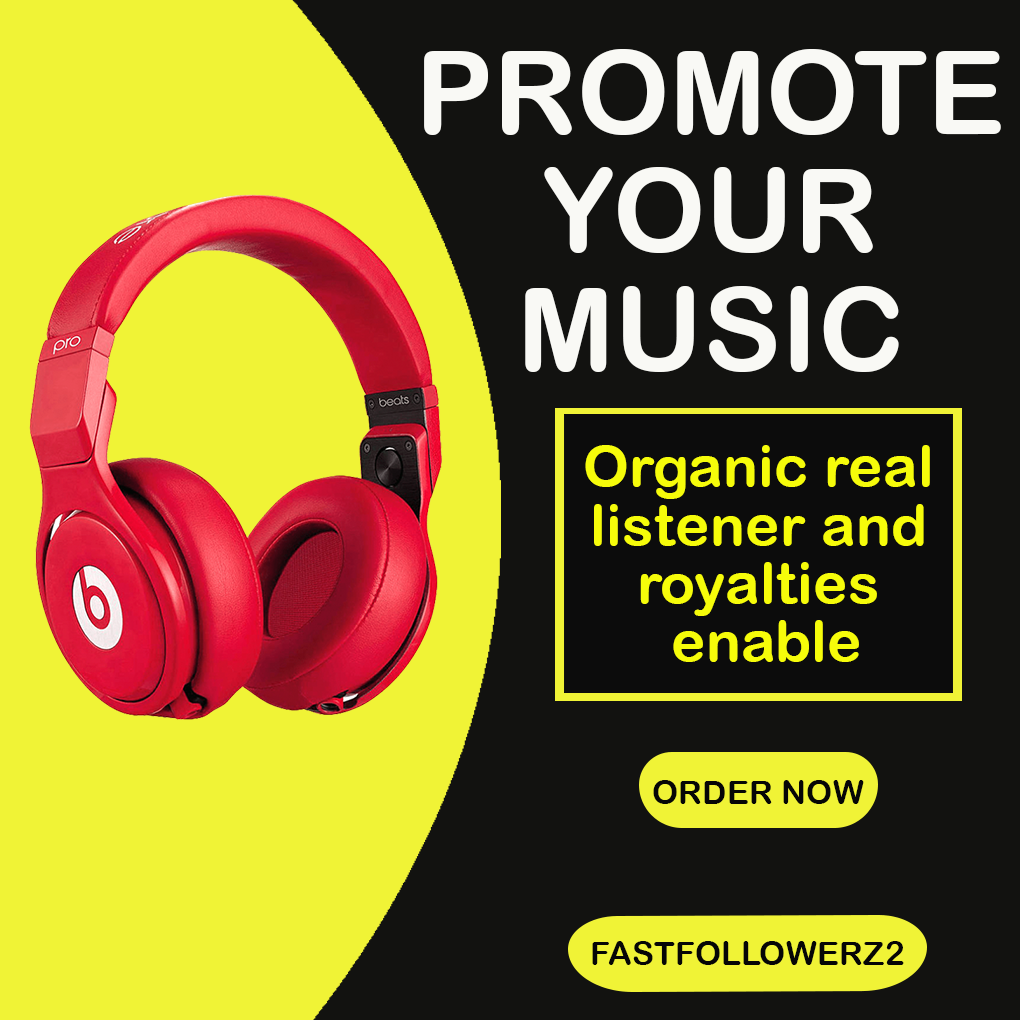 Do organic music promotion to target audience
