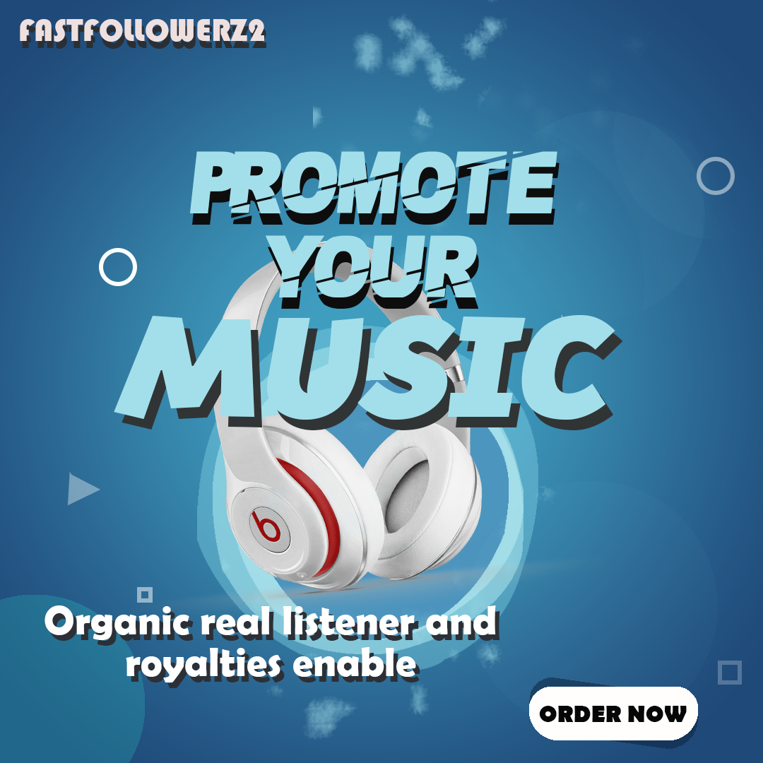 Music promotion for your Single Track uniqe listener
