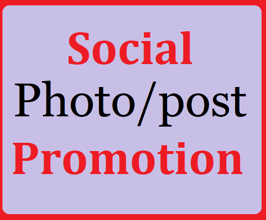 Social Media Pics Or Video Promotion with Fast Delivery