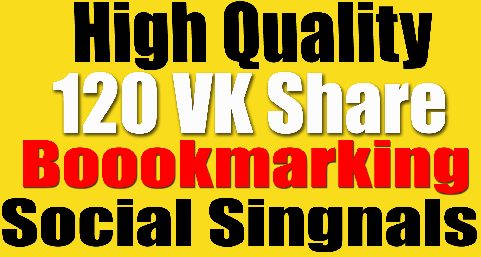 120 Vk Share social bookmarking Real Seo Social Signals Help To Website Traffic