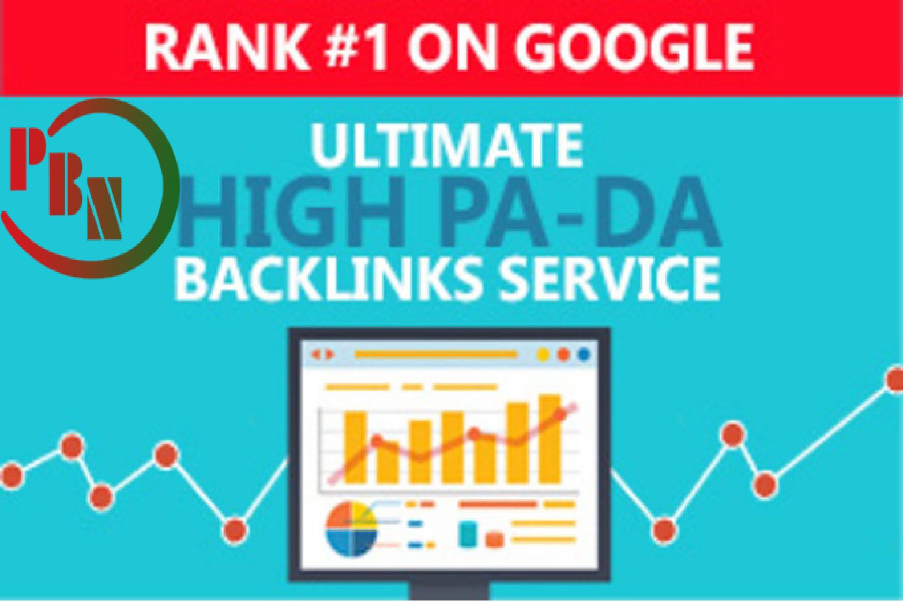 5 high tf cf permanent homepage PBN Backlinks