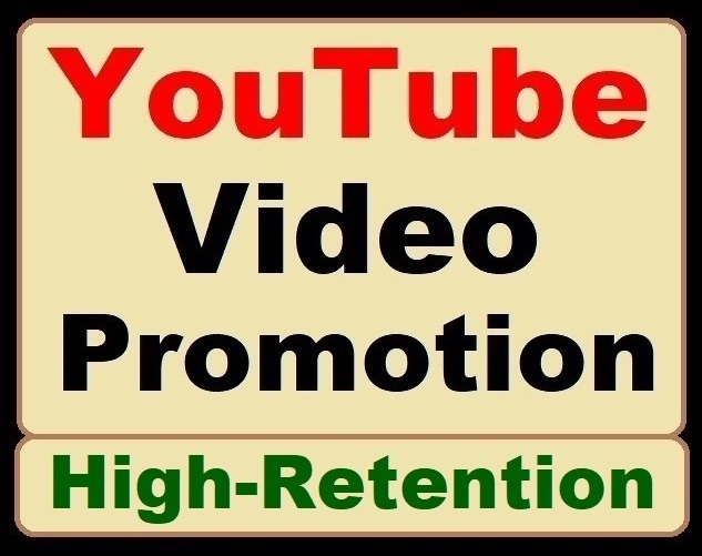 High-Retention YouTube Video Promotion and Social Media Marketing