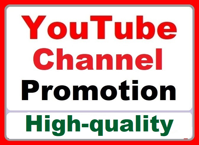 YouTube Promotion and Other Services High quality
