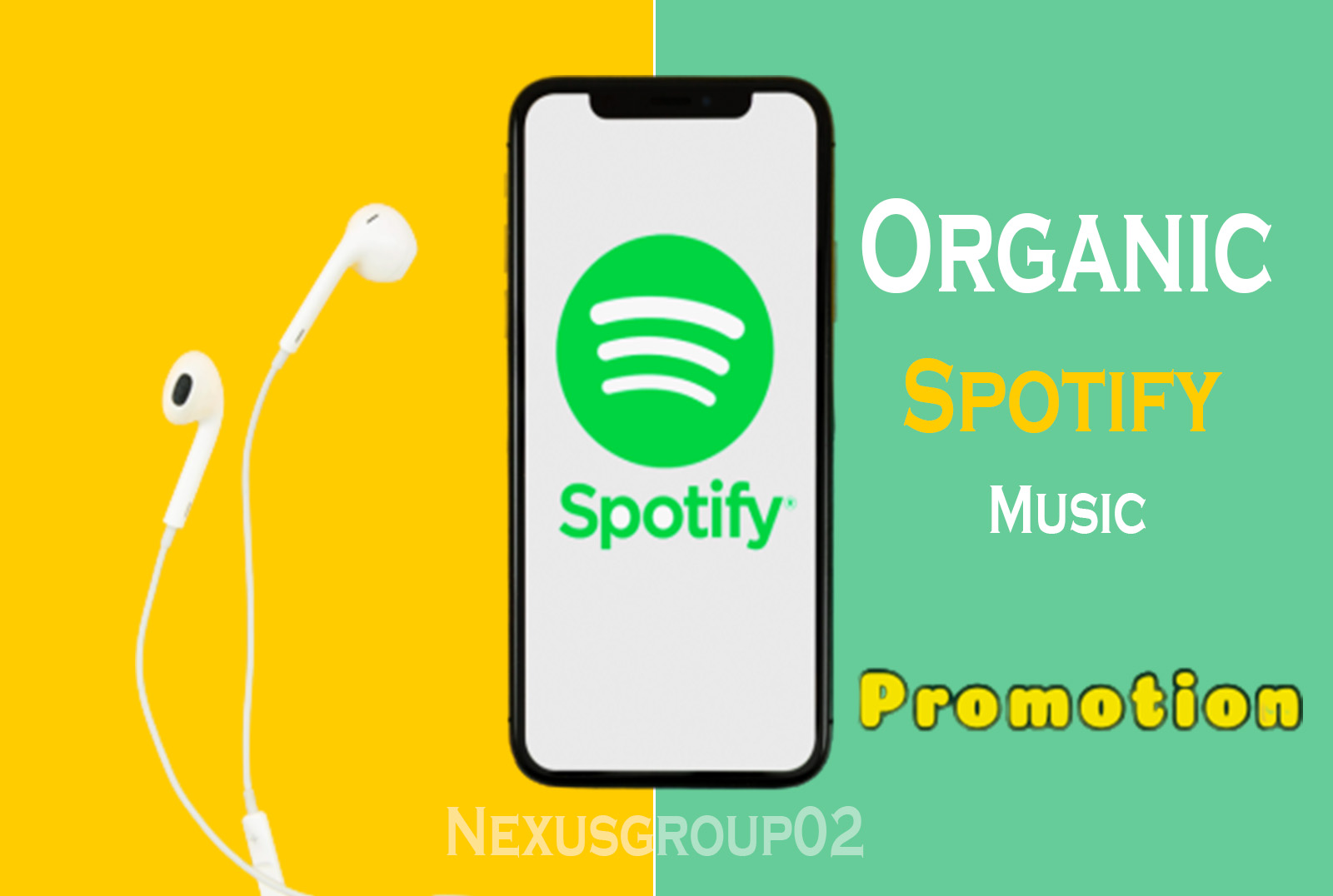 I will do increase organic music promotion streams