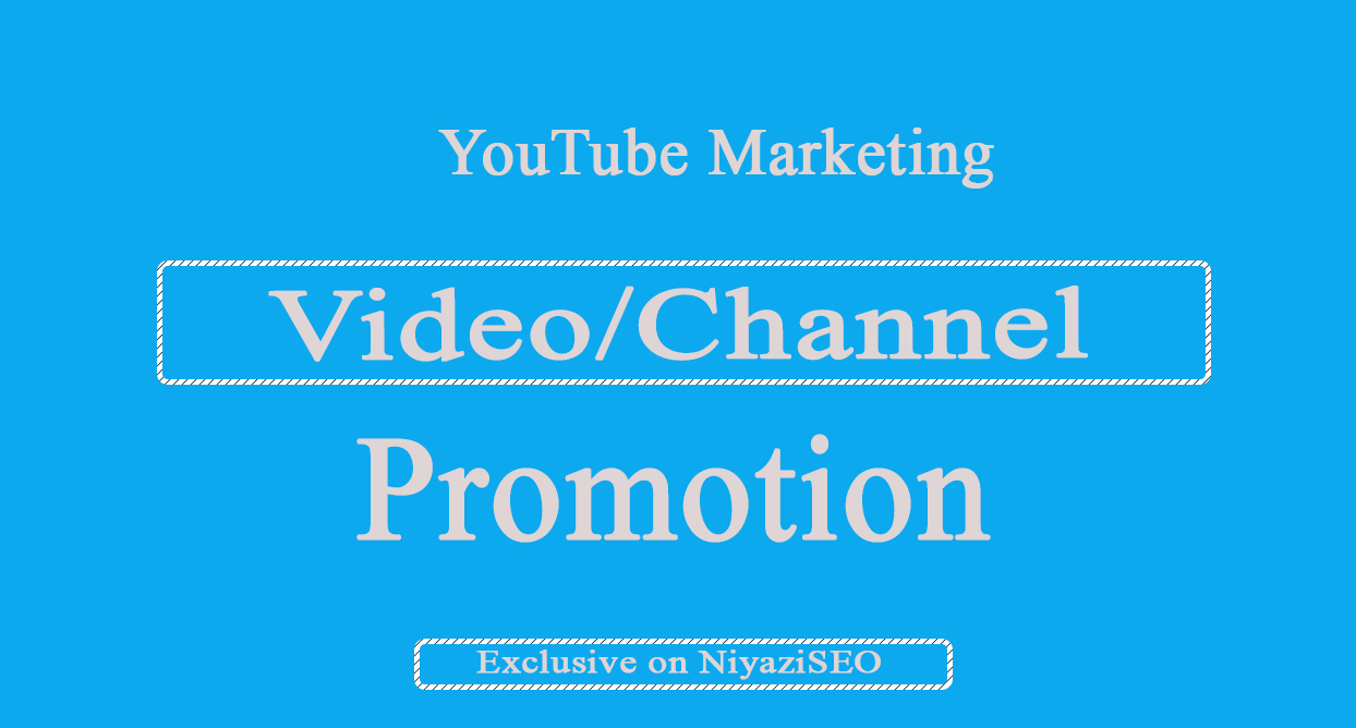 Supper Pack- YouTube Video Marketing Via Social Media Promotion