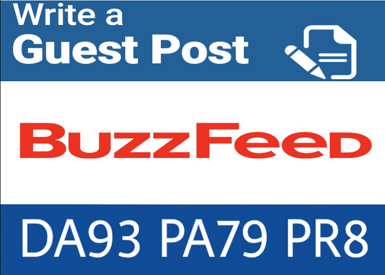 premium Guest Blog on Buzzfeed. Com DA93 PA79,  PR8 DOF Backlink
