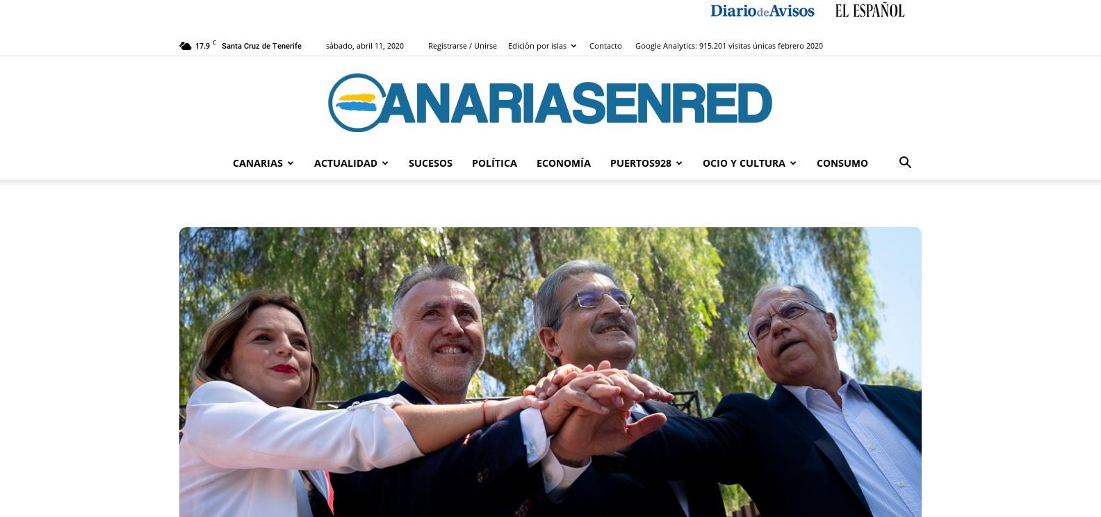 Spanish Guest Post on elespanol. com DA 91 DR 84 - Newspaper editorial