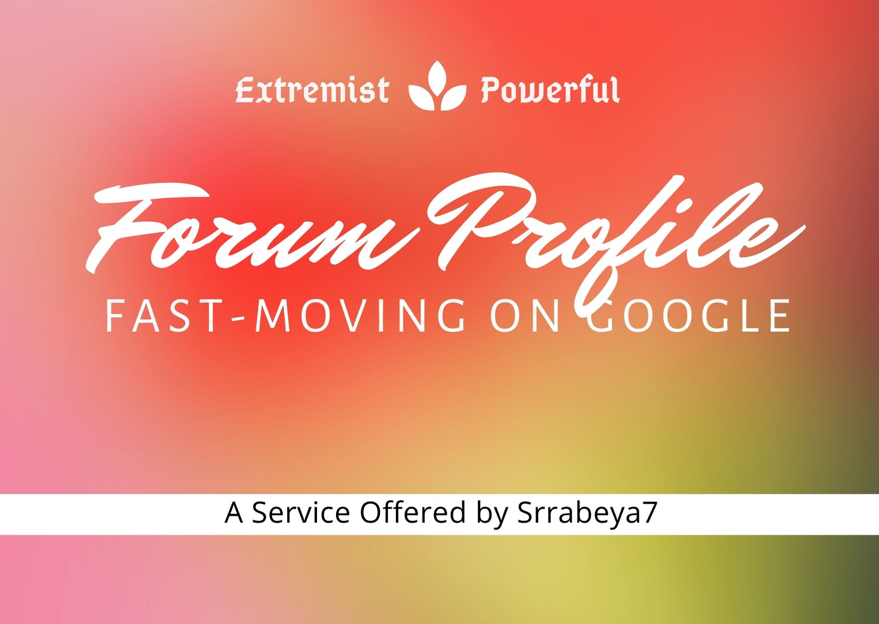 Create Extremist Powerful 500+ Forum Profile Backlinks with User credit for Fast-Ranking on Google