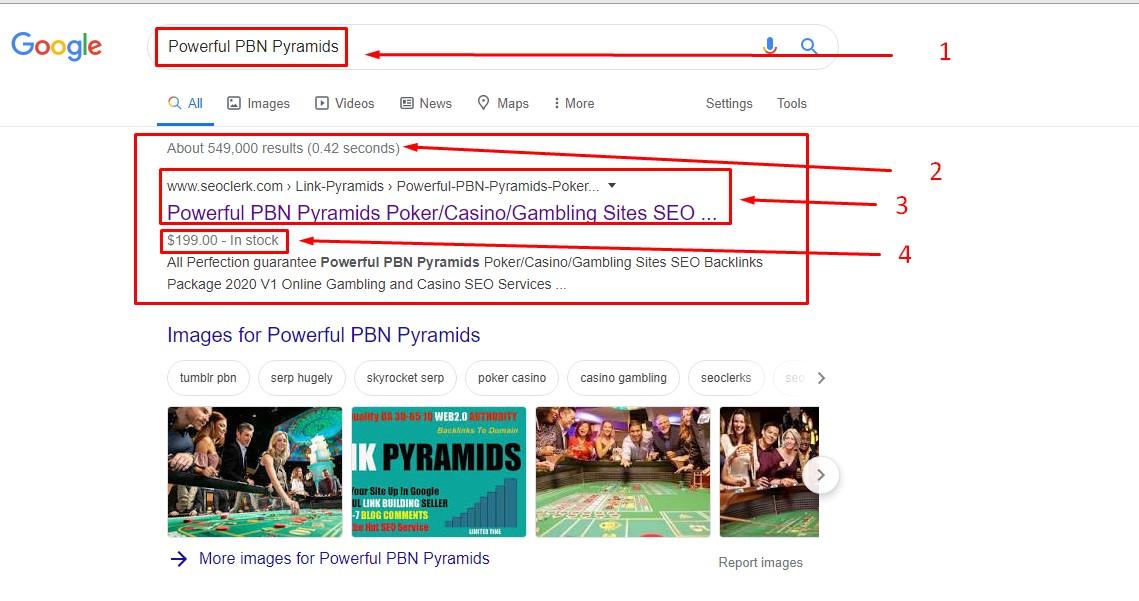 Casino/poker niche related 50 PBN Homepage Fresh Backlinks best for gambling site