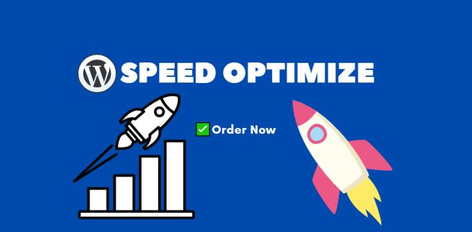 I will do wordpress speed optimize,  increase gtmetrix page speed