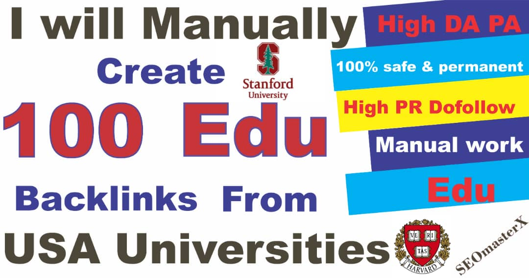 The 100 Most powerful Profile Edu Backlinks for Higher Rankings - Advanced SEO strategy