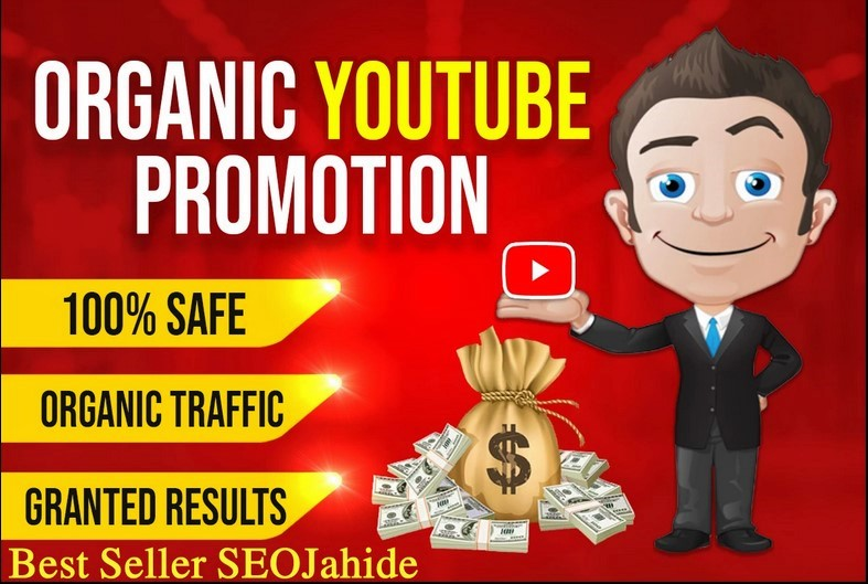 DO ORGANIC YOUTUBE VIDEO PROMOTION Via Real Audience