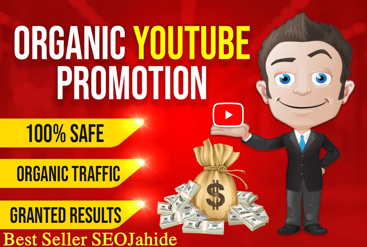I WILL DO FAST YOUTUBE VIDEO AND CHANEL PROMOTION VIA REAL AUDIENCE