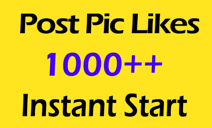 1000 Pictures Post Promotion and Marketing with instant start