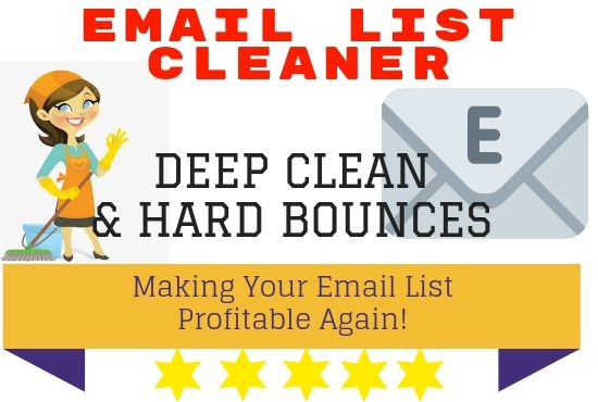 deep clean and hard bounce your email list