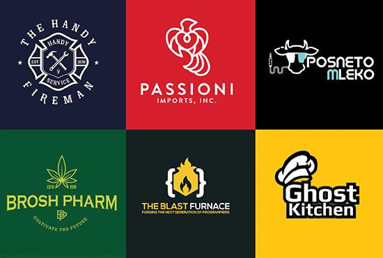 I will do moden minimalist logo design and vectors