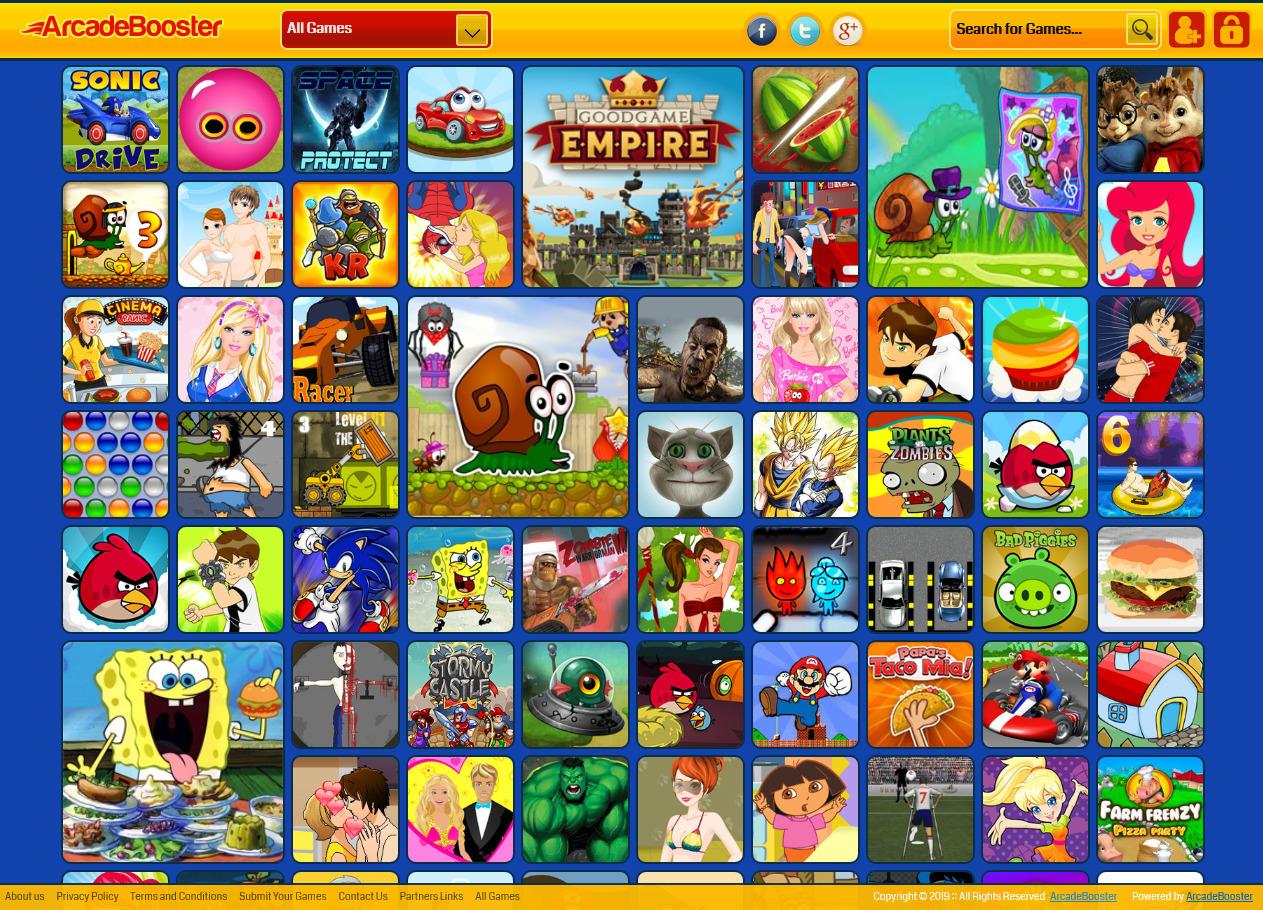 Create your own arcade games online website