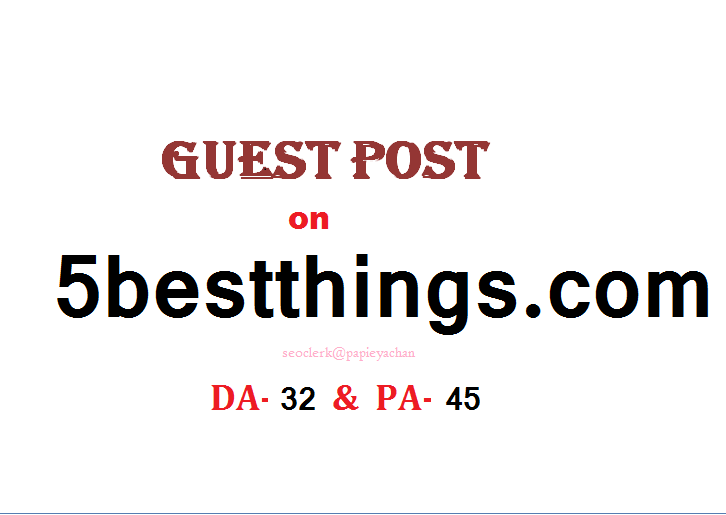 Able to publish content on 5bestthings. com Dofollow
