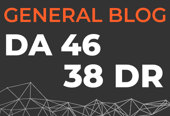 I will do guest post on da 46 general blog
