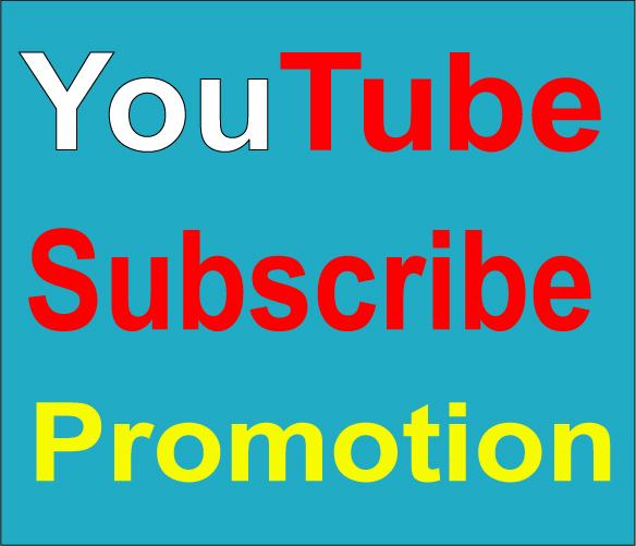 YouTube Sub Promotion and marketing Instant