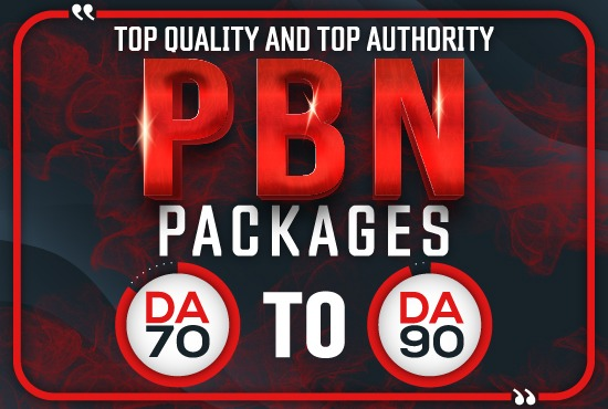 Build 5 PBNs DA70 to DA90 Permanent Homepage Dofollow Backlinks Guaranteed
